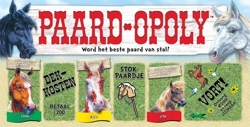 Paard-Opoly - Spel;Spel (0730799550041)