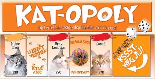 Kat-Opoly - Spel;Spel (0730799550065)