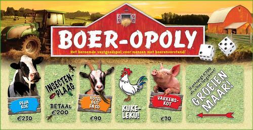 Boer-Opoly - Spel;Spel (0730799550096)