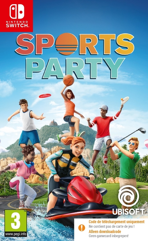Sports Party (Code In A Box) - Nintendo Switch (3307216176428)