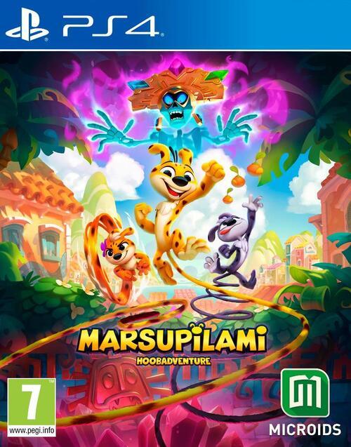 Marsupilami - Hoobadventure (Tropical Edition) - Sony PlayStation 4 (3760156488035)