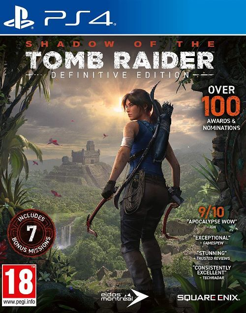 Shadow Of The Tomb Raider (Definitive Edition) - Sony PlayStation 4 (5021290085893)