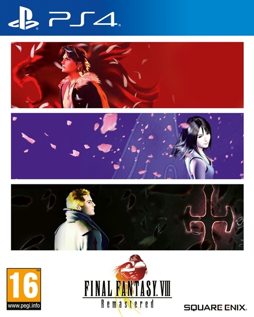Final Fantasy VIII - Remastered - Sony PlayStation 4 (5021290087897)