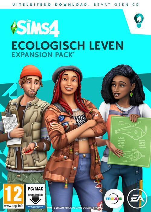 Sims 4 - Ecologisch Leven (Code In A Box)