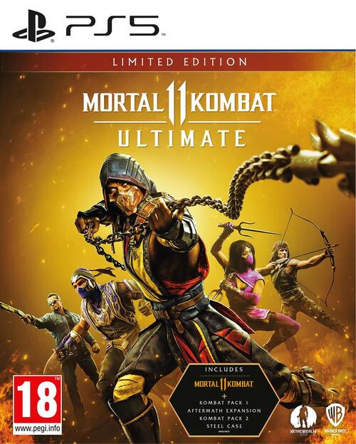 Mortal Kombat 11 - Ultimate (Limited Edition) - Sony PlayStation 5 (5051888255230)
