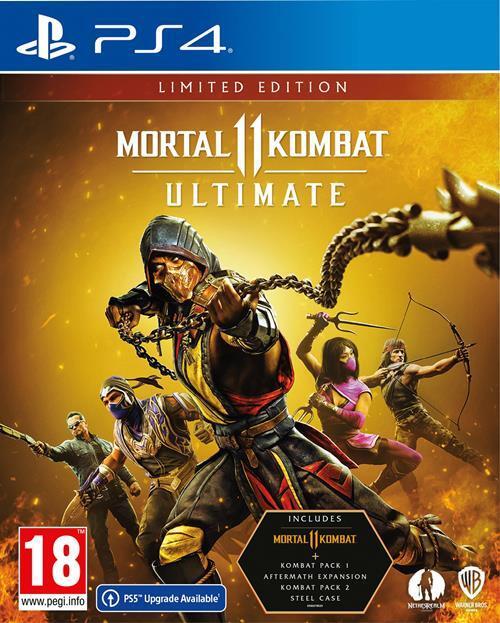 Mortal Kombat 11 - Ultimate (Limited Edition) - Sony PlayStation 4 (5051888255247)