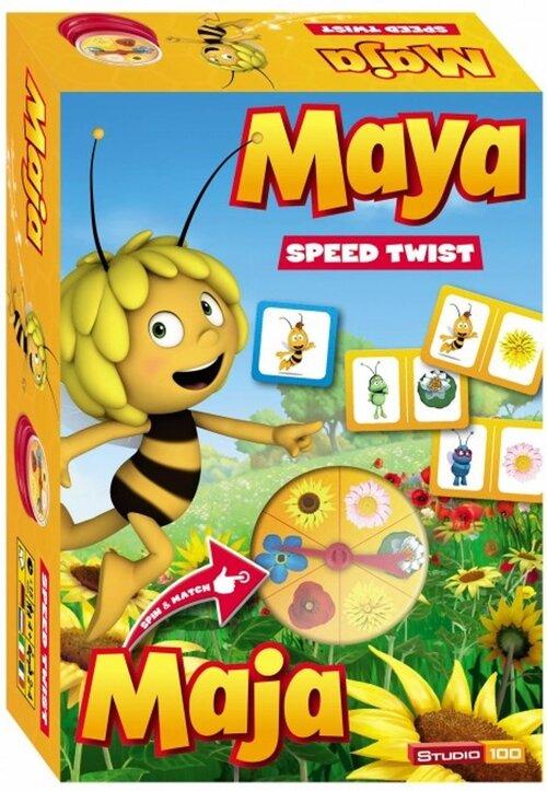 Maya Spel - Speed Twist (Reisspel) - Spel;Spel (5414233186236)
