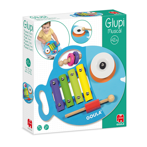 Glupi Muziek 3-In1 - Spel;Spel (8410446531433)
