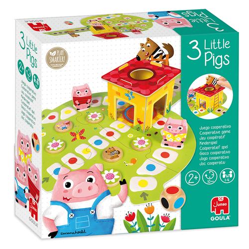 3 Little Pigs - Spel;Spel (8410446531464)