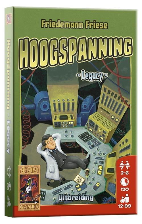 Hoogspanning - Legacy - Spel;Spel (8719214423605)