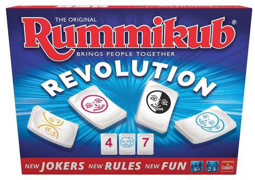 Rummikub - Twist/Revolution - Spel;Spel (8720077190955)