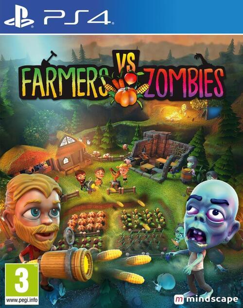 Farmers VS Zombies - Sony PlayStation 4 (8720256139553)