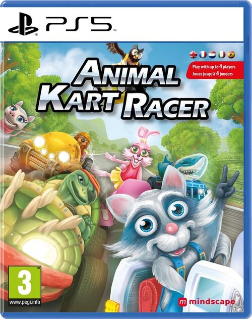 Animal Kart Racer - Sony PlayStation 5 (8720256139775)