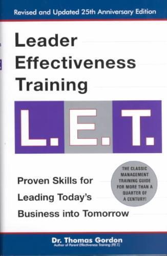 Leader Effectiveness Training, L.E.T