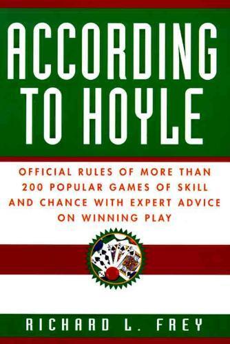 Afbeelding van According to Hoyle