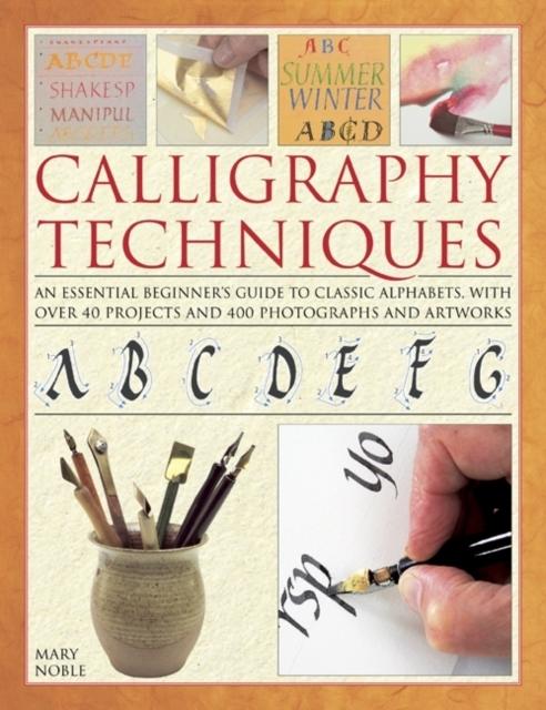 Afbeelding van Calligraphy Techniques