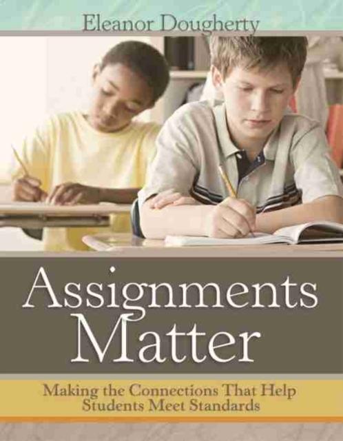 Afbeelding van Assignments Matter