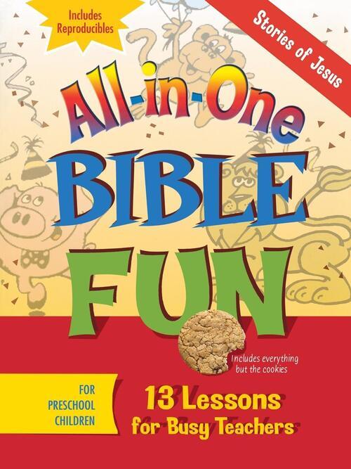 Afbeelding van All-In-One Bible Fun: Stories of Jesus, Preschool