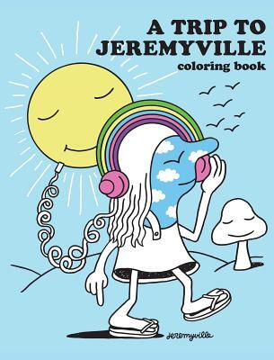 Afbeelding van A Trip to Jeremyville Adult Coloring Book