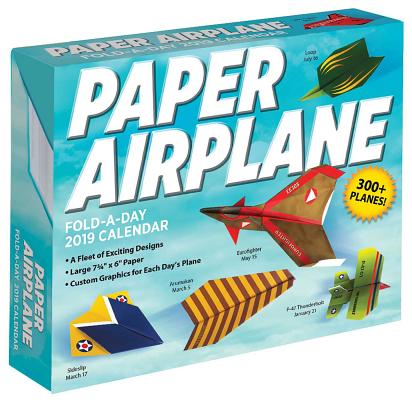 Afbeelding van Paper Airplane Fold-a-Day 2019 Day-to-Day Activity Calendar