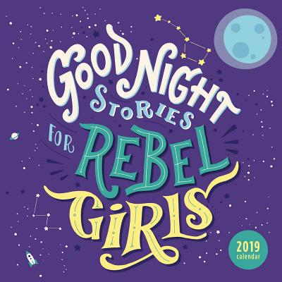 Afbeelding van Good Night Stories for Rebel Girls 2019 Square Wall Calendar