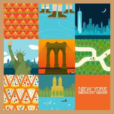 Afbeelding van New York Memory Game