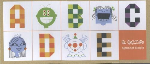 Afbeelding van Ed Emberley Alphabet Blocks