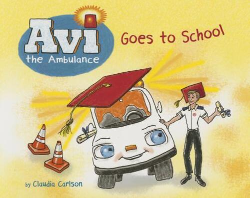 Afbeelding van AVI the Ambulance Goes to School