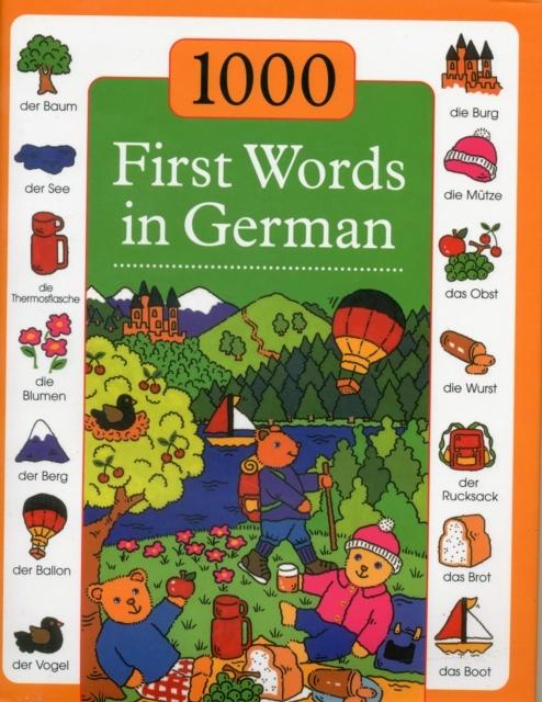 Afbeelding van 1000 First Words in German