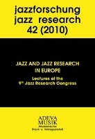 Afbeelding van Jazzforschung - Jazz Research / Jazz and Jazzresearch in Europe