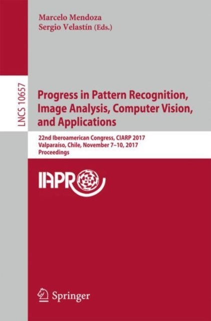 Afbeelding van Progress in Pattern Recognition, Image Analysis, Computer Vision, and Applications