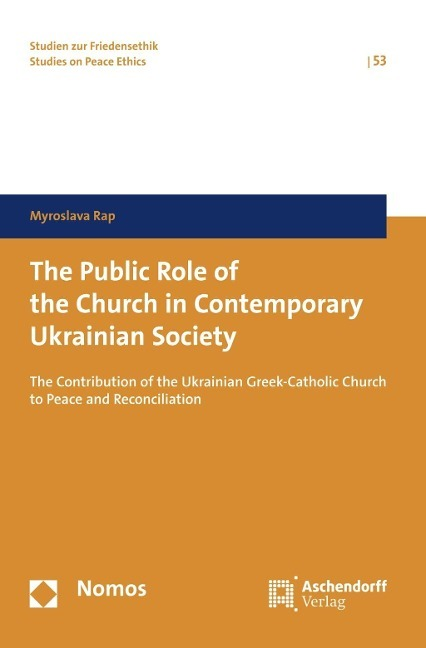 Afbeelding van The Public Role of the Church in Contemporary Ukrainian Society