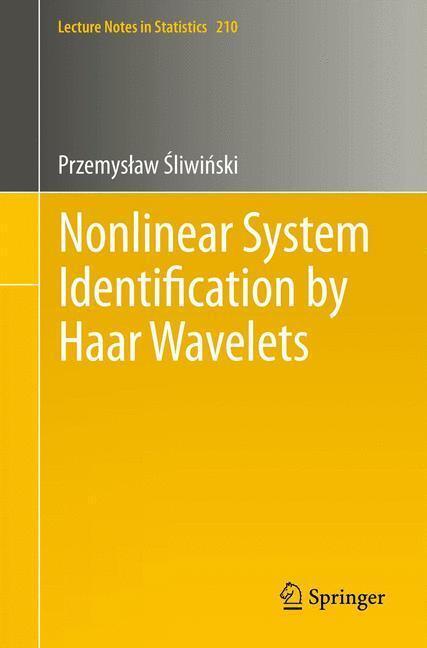 Afbeelding van Nonlinear System Identification by Haar Wavelets