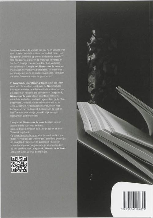 Laagland Literatuur En Lezer Gerrit Van Der Meulen 9789006109894