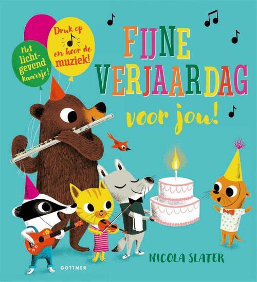 Fijne Verjaardag Voor Jou Nicola Slater 9789025767846 Boek