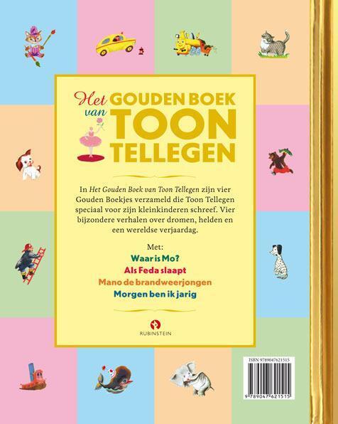 Het Gouden Boek Van Toon Tellegen Toon Tellegen 9789047621515