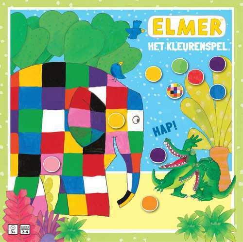 Bordspel - Elmer Het Kleurenspel - Spel;Spel (9789048317073)