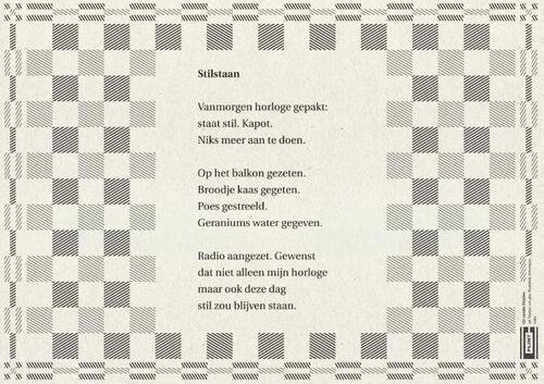 Super Poezieplacemats met 20 gedichten, C. Buddingh'   9789059304079 NO-76