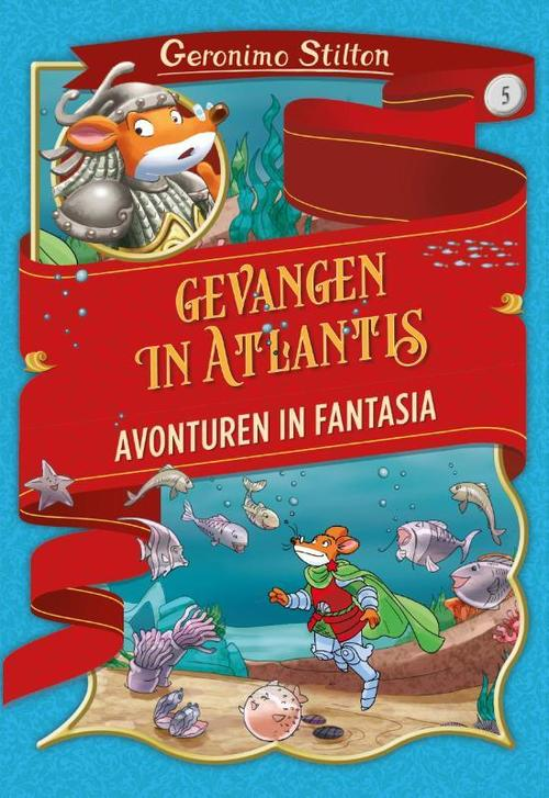 Verbazingwekkend Gevangen in Atlantis, Geronimo Stilton   9789085924623   Boek KW-54