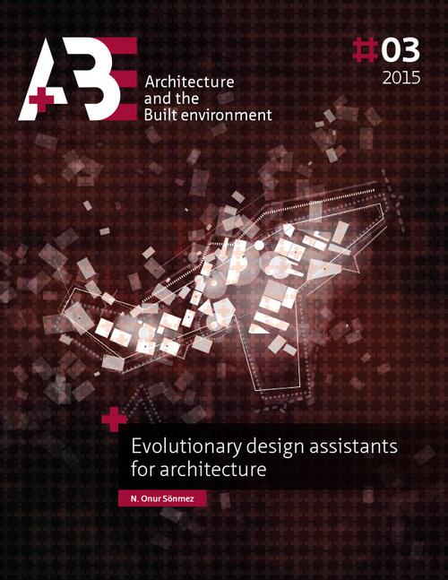 Afbeelding van Evolutionary design assistants for architecture