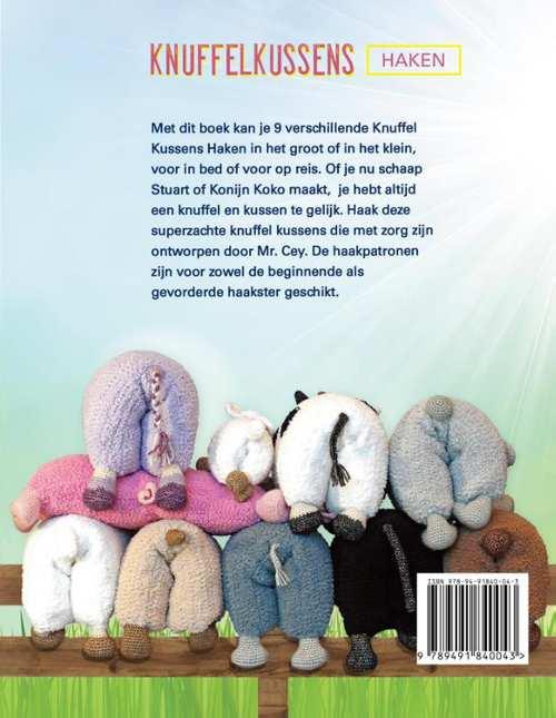 Knuffelkussens Haken Mr Cey 9789491840043 Boek