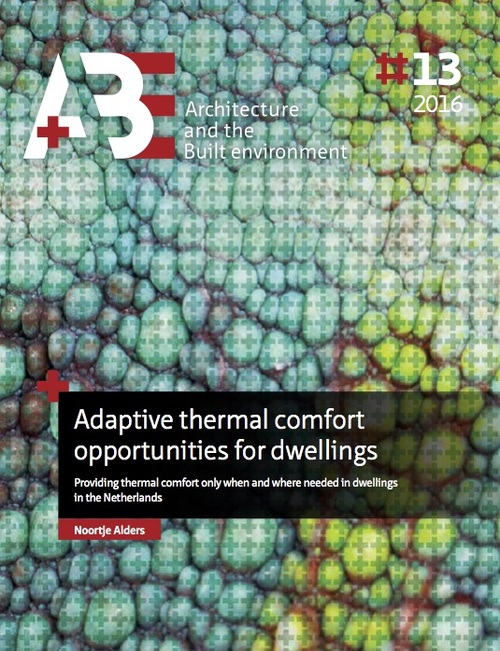 Afbeelding van Adaptive thermal comfort opportunities for dwellings