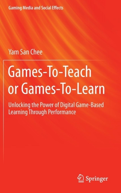 Afbeelding van Games-To-Teach or Games-To-Learn