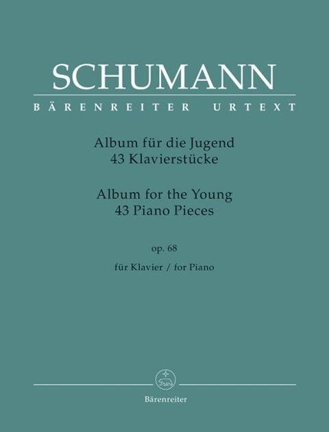 """Afbeelding van 43 Klavierstücke für die Jugend op. 68 """"Album für die Jugend"""""""