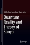 Quantum Reality and Theory of Sunya-