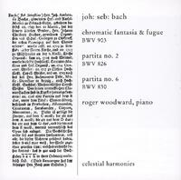 Bach: Cromatic Fantasia & Fugue BWV-Roger Woodward-CD