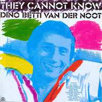 They Cannot Know (CD)-Dino Betti van der Noot-CD
