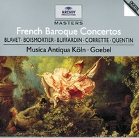 French Baroque Concertos-Reinhard Goebel-CD