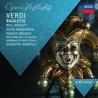 Rigoletto - Highlights Virtuoso)-Fassbaender, Gruberova, Ruson, Shicoff-CD
