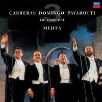 The Three Tenors 25th Anniversary-Luciano Pavarotti, Placido Domingo-LP